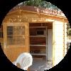chalet cuisine - chalet dortoir - Ferm'accueil