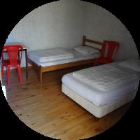 Chambre individuelle - Ferm'accueil