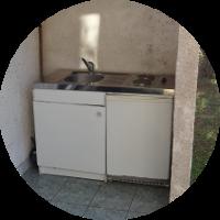 cuisine- chambre individuelle - Ferm'accueil