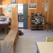 Salle à manger - gîte d'étape - Ferm'accueil