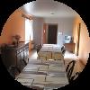 Hébergement gîte de groupes - salle à manger - Ferm'accueil