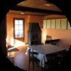 Hébergemen t gîte rural à la ferme - Salle à manger - Ferm'accueil