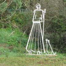 sculpture bergère